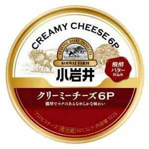 小岩井クリーミーチーズ6P 114g(6個入り)×【12個セット】