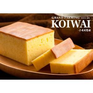 純良醗酵バターケーキ 小岩井農場|koiwaishop