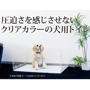 ポイント最大12倍! 犬のトイレ ペット用トイレ クリアレット・ラージ トレー&メッシュセット|koji