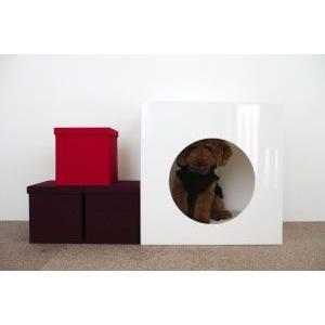 犬猫用インテリアハウス キューブ