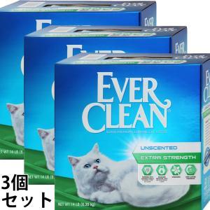 ポイント最大17倍! エバークリーン 小粒微香タイプ 3個セット 猫砂 ベントナイト 消臭|koji