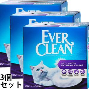 ポイント最大17倍! エバークリーン 小粒芳香タイプ 3個セット 猫砂 ベントナイト 消臭|koji