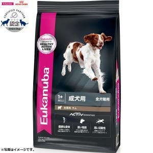 ユーカヌバ ドッグフード アダルト ラム&ライス 成犬用 中・大型犬用 1歳以上 7.5kg koji
