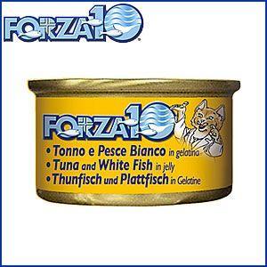 7日0時〜♪店内ポイント最大37倍!フォルツァ10 キャットフード メンテナンス モイストウェット マグロ&白身魚 85g|koji