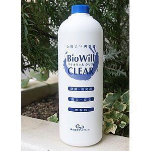 バイオウィル クリア 詰替え用 除菌・消臭 1L(バイオウィル BioWill)