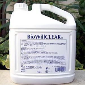 店内ポイント最大32倍!バイオウィル クリア 詰替え用エコボトル 除菌・消臭 4L(バイオウィル BioWill)|koji