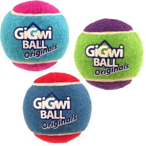 ポイント最大12倍! GiGwi ギグウィテニスボール ラージ 3P koji