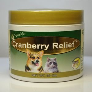 ネイチャーベット クランベリーリリーフ 犬猫用栄養補助食品(泌尿器の健康をサポート)原料は全て天然原...