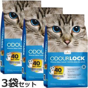 ポイント最大20倍! 猫砂 オードロック 6kg×3袋セット(ベントナイト)|koji