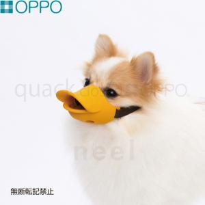 ポイント最大25倍!25日23時59分まで! OPPO(オッポ) quack closed(クアック クローズ) S(OPPO オッポ 口輪 マナー)|koji
