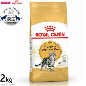 ロイヤルカナン 猫 キャットフード アメリカンショートヘアー 成猫用 2kg|koji