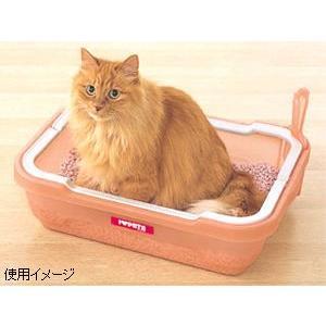 本日ポイント最大12倍! 猫 トイレ ネコトイレ しつけるトイレ C-M|koji