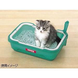 本日ポイント最大12倍! 猫 トイレ ネコトイレ しつけるトイレ C-S|koji