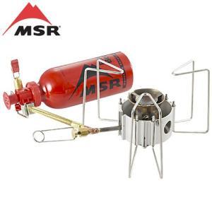 MSRのドラゴンフライはマルチフューエルに対応するホワイトガス、灯油、自動車用無鉛ガソリンが利用可能...