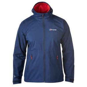 スタイリッシュなデザインの防水透湿機能性を持つジャケット。アウトドアでもタウンでもアクティブに着こな...