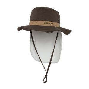 【ポイント10倍】ウェア 帽子 マーモット BC サンシェイド ハット カラー DKHK TOALJC46 kojitusanso