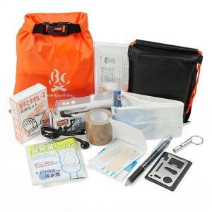 【最大21%還元】Bush Craft ブッシュクラフト BC携帯非常袋 / オレンジ 29175