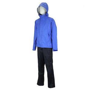 傘 メンズ レインウェア 雨具 バイレス レインスーツ メンズ ブルー BR-5600【ポイント10%】|kojitusanso
