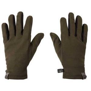 【ポイント10倍】ウェア 手袋 グローブ マーモット ソフトインナーグローブ ダークカーキ TOAMJD77|kojitusanso