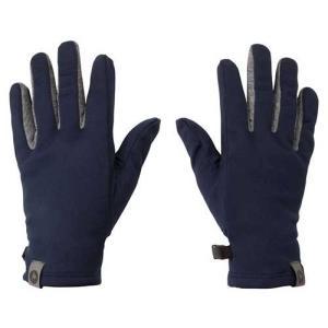 【ポイント10倍】ウェア 手袋 グローブ マーモット ソフトインナーグローブ ダークネイビー TOAMJD77|kojitusanso