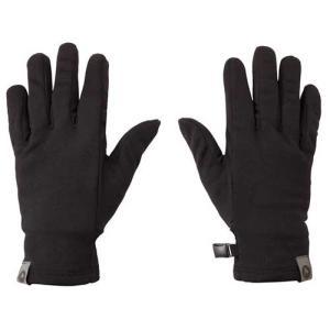 【ポイント10倍】ウェア 手袋 グローブ マーモット ソフトインナーグローブ ブラック TOAMJD77|kojitusanso