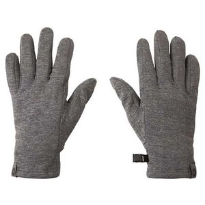 【ポイント10倍】ウェア 手袋 グローブ マーモット ソフトインナーグローブ ミディアムグレー TOAMJD77|kojitusanso