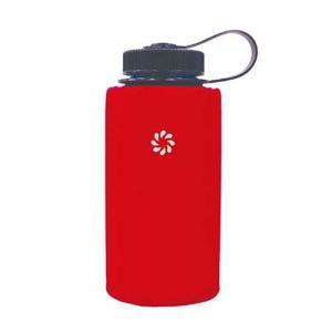 ナルゲン広口0.5L用のボトルホルダーフックと縦、横どちらでも使用可能なベルトループが付いたナルゲン...