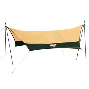 クロスポールで簡単設営!サイドポール標準装備でさまざまな設営バリエーショ キャンプ タープ キャンプ...