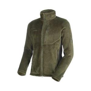 ポーラテックサーマルプロハイロフトを使用した軽量で暖かいフリースジャケット。マムートらしい細部にまで...
