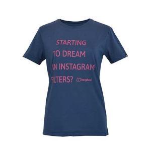 レディースウェア カットソー Tシャツ バーグハウス ウィメンズ メッセージティー DUSK J0447|kojitusanso