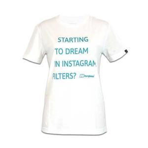 レディースウェア カットソー Tシャツ バーグハウス ウィメンズ メッセージティー PURE WHITE J0447|kojitusanso