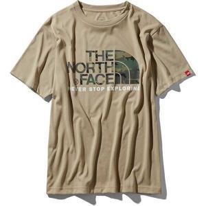 【ポイント10倍】THE NORTH FACE(ザ・ノースフェイス) / ショートスリーブ カモフラージュロゴティー メンズ / ケルプタン / NT31932 kojitusanso