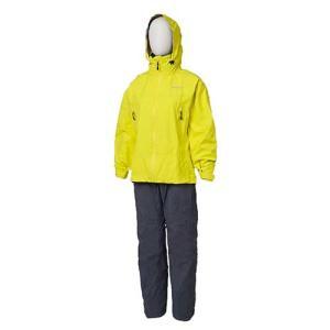 雨・風は防ぎ、服の内部の汗などの湿気・ムレを放出する防水透湿素材ゴアテックスを採用した上下セットのレ...