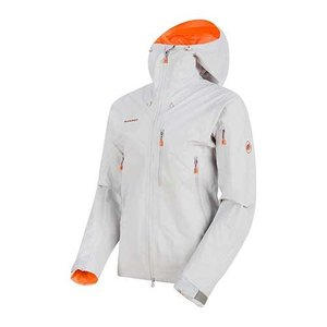 高山地形での使用に適した、非常に堅牢で耐摩耗性のある3層GORE-TEX Proフード付きジャケット...