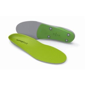 グリーンは最強のサポート性を備え、かつ最大限の衝撃吸収性を持つ高性能なフットベッドです。足の性能を最...