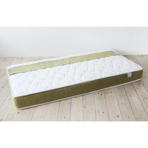 送料無料 ポケットコイル マットレス 低反発ウレタン入り NEIRO(ネイロ) シングル ホワイト お洒落 寝心地を追及 高品質|koki-mattress