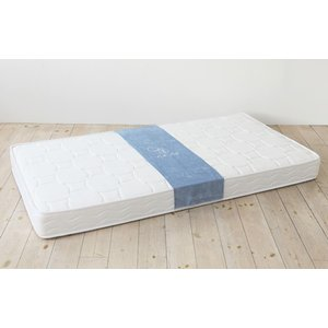 送料無料 ボンネルコイル マットレス ne・ne(ネネ) シングル ホワイト お洒落 低価格 高品質|koki-mattress