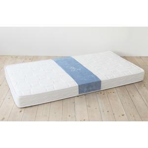送料無料 ボンネルコイル マットレス ne・ne(ネネ) セミダブル ホワイト お洒落 低価格 高品質|koki-mattress