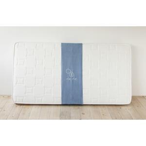 送料無料 ボンネルコイル マットレス ne・ne(ネネ) セミダブル ホワイト お洒落 低価格 高品質|koki-mattress|02