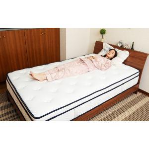 送料無料 3ゾーンポケットコイル マットレス ねむり専科 シングル ホワイト 寝心地を追及 最上級の上質な眠り 高品質|koki-mattress|02