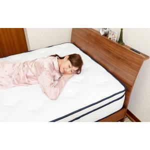 送料無料 3ゾーンポケットコイル マットレス ねむり専科 シングル ホワイト 寝心地を追及 最上級の上質な眠り 高品質|koki-mattress|03