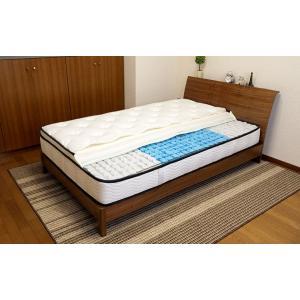 送料無料 3ゾーンポケットコイル マットレス ねむり専科 シングル ホワイト 寝心地を追及 最上級の上質な眠り 高品質|koki-mattress|05