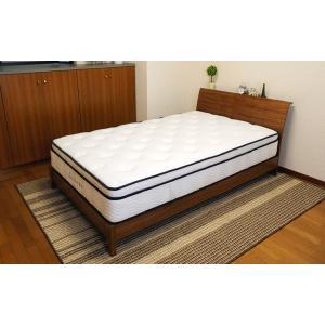 送料無料 3ゾーンポケットコイル マットレス ねむり専科 セミダブル ホワイト 寝心地を追及 最上級の上質な眠り 高品質|koki-mattress