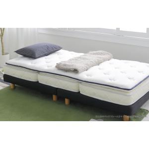 送料無料 超薄型ポケットコイル マットレス LAYFIT(レイフィット) ダブル ホワイト 寝心地を追及 お持ちのマットレスをグレードアップ 高品質|koki-mattress|03