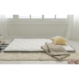 送料無料 超薄型ポケットコイル マットレス LAYFIT(レイフィット) ダブル ホワイト 寝心地を追及 お持ちのマットレスをグレードアップ 高品質|koki-mattress|04