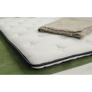 送料無料 超薄型ポケットコイル マットレス LAYFIT(レイフィット) ダブル ホワイト 寝心地を追及 お持ちのマットレスをグレードアップ 高品質|koki-mattress|06