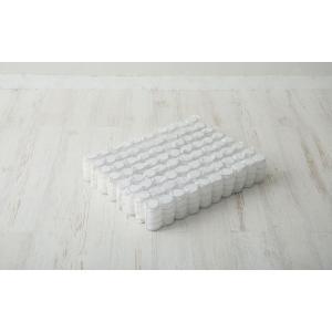 送料無料 超薄型ポケットコイル マットレス LAYFIT(レイフィット) ダブル ホワイト 寝心地を追及 お持ちのマットレスをグレードアップ 高品質|koki-mattress|10