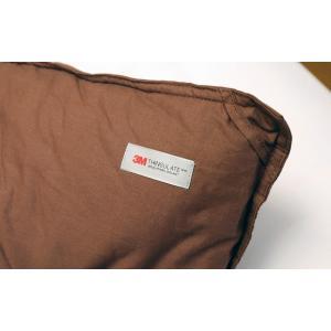 送料無料 KOKIマットレス特製 シンサレート 掛布団 セミダブル ブラウン 綿100% 高機能中綿素材|koki-mattress|03