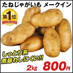 じゃがいも種芋 メークイン 2kg / ジャガイモ 馬鈴薯 ...