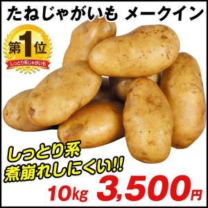 じゃがいも種芋 メークイン 10kg / ジャガイモ 馬鈴薯 たね芋 たねいも